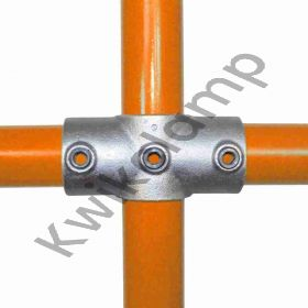 """Kwikclamp 119 Series, heavy duty """"X"""" galv connector fittings"""