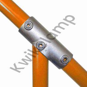 Kwikclamp 127 Series, 30-40 degree adjustable long TEE