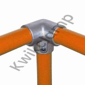 Kwikclamp 128 Series, 90 degree top rail connector