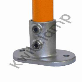 Kwikclamp 132 Series, galv foot / flange connector fittings