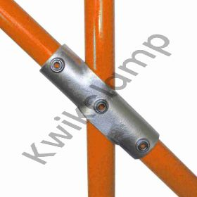 """Kwikclamp 130 Series, adjustable long """"X"""" 30-60 degree connector fittings"""