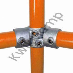 Kwikclamp 148 Series, adjustable horizontal angle connector