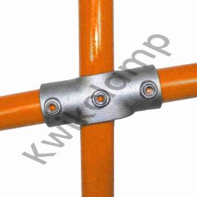 """Kwikclamp 156 Series, incline angled """"X"""" connector, 0-11 degrees"""