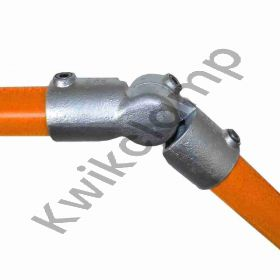 Kwikclamp 166 Series, adjustable angle connector