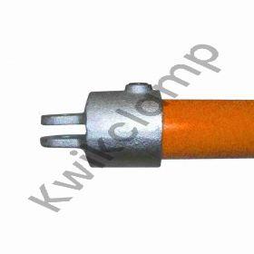 Kwikclamp 173F Series, single female swivel