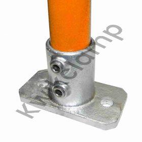 Kwikclamp 232 Series, D48 (40NB) extra heavy galv duty flange