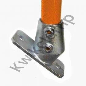 Kwikclamp 251 Series, D48 (40NB) extra heavy galv duty flange, 30-45 degree