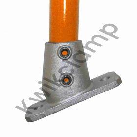 Kwikclamp 252 Series, D48 (40NB) extra heavy galv duty flange, 11-30 degree