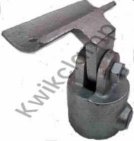 Kwikclamp 752 Series, offset adjustable angle saddle connector assembly