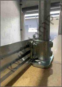 Kwikclamp Kickplate, aluminium 6m length