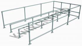 Trolley Bay Kit - triple, 2250mm wide x 4500mm long